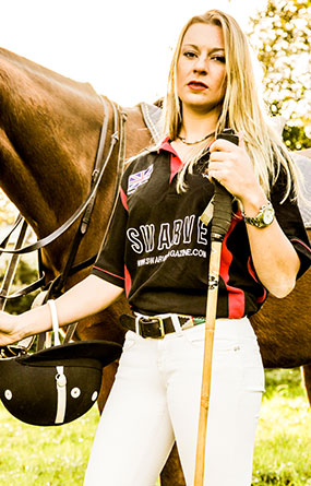 SWARVE Polo Team Black Polo